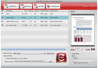 iSuper PDF Converter for Mac